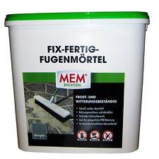 MEM Fix Fertig Fugenmörtel Steingrau 12,5 Kg 220124