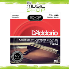 D'Addario EXP74 Coated Phosphor Bronze Mandolin Strings Medium
