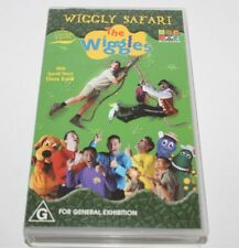 The Wiggles Wiggly Safari Special Guest Steve Irwin Vhs ABC Video 2002