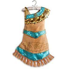 Disney Store Pocahontas Costume Dress Halloween Size Small 5/6