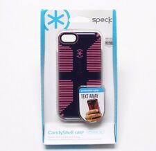 Speck Case iPhone 5C Candyshell Grip Cupcake Purple/Pink Cover Shell