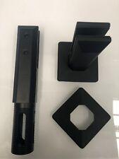 2205 HeavyDuty Stainless Steel Spigots Frameless Glass Pool Fencing Spigot Black