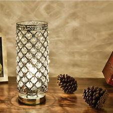 Crystal Table Lamp Dormitorio luces Lámpara de noche Creative Lámpara de mesa HC