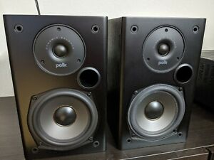 Polk Audio T15 100 Watt Home Theater Bookshelf Speakers Black