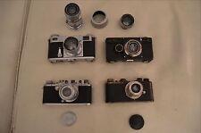 Leica I c, Leica III c, Contax I, Contax II Cameras and lenses Leitz Zeiss.