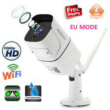 1080P HD 2MP Waterproof Wireless Smart WiFi Home Security IP Camera Night Vision