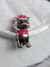 Genuine, Retired CHAMILIA 925 Silver Disney Aristocat MARIE Charm Bead
