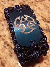 Mortal Kombat X Lin Kuei symbol Paracord Gamer Bracelet- handmade- para cord