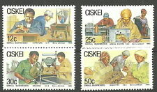 Ciskei - Kleinbetriebe Satz postfrisch 1985 Mi. 79-82