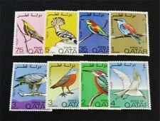 nystamps British Qatar Stamp # 279-286 Mint Og H $85 J15y3230
