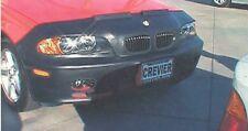 Colgan Front End Mask Bra 2pc. Fits BMW 323ci & 328ci 1999-2000 W/Lic.Plate
