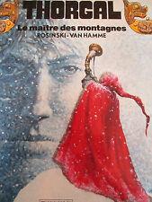 THORGAL Le maître des montagnes T 15 Edition originale Rosinski Van Hamme