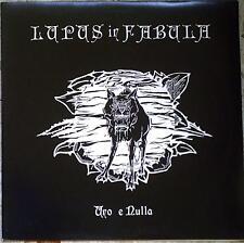 LUPUS IN FABULA - UNO E NULLA - LP 1993 ITALY hardcore heavy metal NEAR MINT KBD