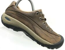 Keen Brown Leather Casual Hiking Trail Lace Up Oxfords Shoes Women's 7