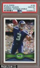 2012 Topps #165 Russell Wilson RC Rookie PSA 10 Seahawks