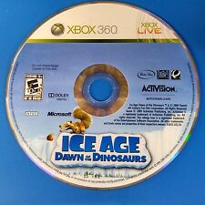Ice Age: Dawn of the Dinosaurs (Microsoft Xbox 360, 2009) DISC ONLY #5519
