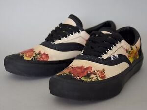 Vans Era Pro (Gaultier) X SUPREME Sneakers – Floral Print Peach UK 8.5