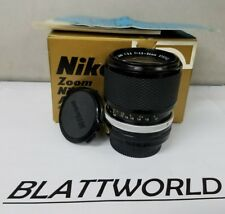 Nikon Zoom Auto Nikkor 43-86mm f3.5 Lens - Very Rare Version - NEW OLD STOCK