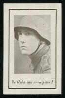 WW2 WWII Germany 3rd Reich German Hitler Army Soldier Memorial Death Photo Card