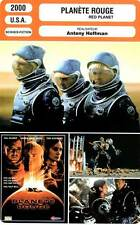 FICHE CINEMA : PLANETE ROUGE - Kilmer,Moss,Sizemore,Baker,Stamp 2000 Red Planet
