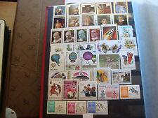 RWANDA - 37 timbres (majorite n**)  stamp