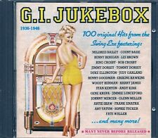 COFFRET 5 CDS COMPIL 100 TITRES--G.I.JUKEBOX 1936/1946--WALLER/CROSBY/BASIE/KIRK