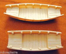 2 Ricambi Giunca Pirata Cinese Amati 1421 set scialuppe barche da arrembaggio