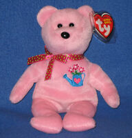 TY MOTHERING the BEAR BEANIE BABY - MINT with MINT TAG - HALLMARK EXCLUSIVE