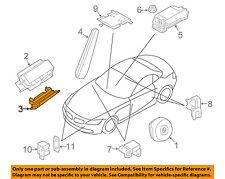 BMW OEM 09-16 Z4 Supplemental Restraint System-Knee Inflator Module 72129141043