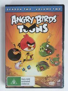 ** ANGRY BIRDS TOONS DVD 2016 Season 2 Volume 2 - Region 4 - NEW & SEALED