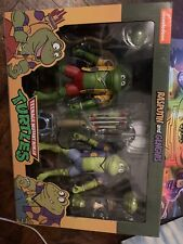 Neca TMNT Rasputin & Genghis Frog punks Target 2 pack Figures Ninja Turtles!!!