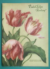 1932 Color Advertisement - Dutch Tulips by Joh. Enschede Printers of Haarlem