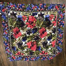 Compagnie Internationale Express Silk Scarf Floral