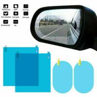 4PCS Waterproof Car Rearview Mirror Rainproof Anti-Fog Rain-Proof Film Sticker