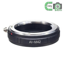 AI-M42 Macro Nikon AI AI-S F Lens to M42 Screw Mount Adapter Zeiss Pentax Mamiya