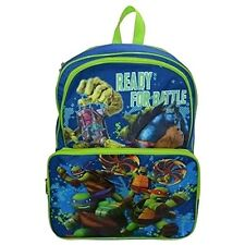 "Teenage Mutant Ninja Turtle 16"" Ready For Battle Backpack School Bag"