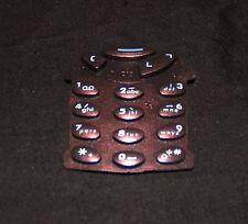 1x Retro Bronze Metallic Jelly Keypad for Nokia 3210 Rare to obtain!