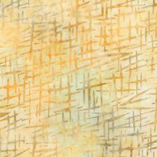 Robert Kaufman Batik Fabric, AMD-16830-124 MAIZE, By The Half Yard, Quilting