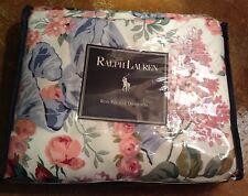 New Vtg Ralph Lauren Allison Home Drapes Rod Pocket Shabby Cottage 84x84 Nos Htf