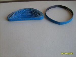 30 x 10mm x 330mm  Zirconium Abrasive Belt Various Grit Options- P240,320,400