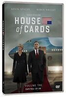 House Of Cards - Serie Tv - Stagione 3 - Cofanetto Con 4 Dvd - Nuovo Sigillato
