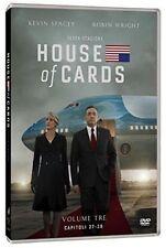 House Of Cards - Serie Tv - Stagione 3 - Cofanetto Con 4 Dvd - Nuovo Sigillato