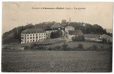 CPA 39 - CHÂTEL (Jura) - Vue Générale - Environs de Cousance