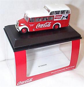 Commer Commando Bus Coca Cola 1-76 scale new in Case 76COM008CC