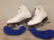Riedell Size 6 Model 110W Ice Skates Good Condition Women's Ladies Girls
