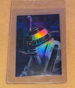 1996 Topps Finest R2-D2 Star Wars REFRACTOR #83 🔥 RARE