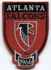 "ATLANTA FALCONS NFL FOOTBALL EST 1966 VINTAGE 4.25"" TEAM SHIELD PATCH"