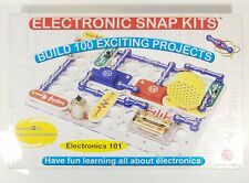 Electronic Snap Kits 101 Build 100 Projects Science Set Complete Radio Shack