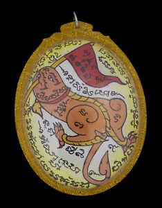 Talisman Amulett Thai Palad Khik Phallische Takrut Yant Inkoo Yin Fruchtbarkeit