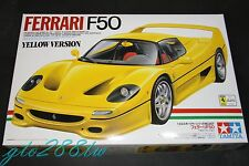 Tamiya 1/24 scale Ferrari F50 Yellow Version 1995 model kit(Early Issue) 24207